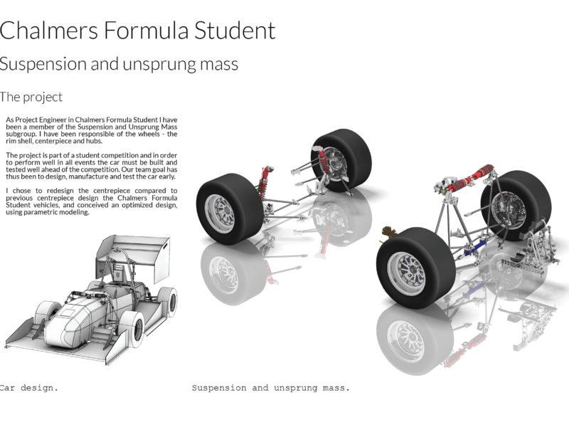 Formula student Chalmers - Unsprung mass team