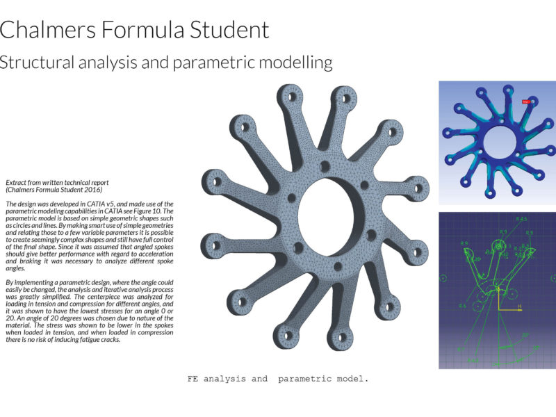 Formula student - Finite element analysis