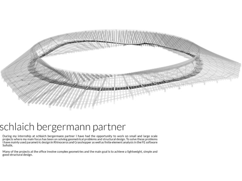 Internship sclaich bergermann partner - Introduction